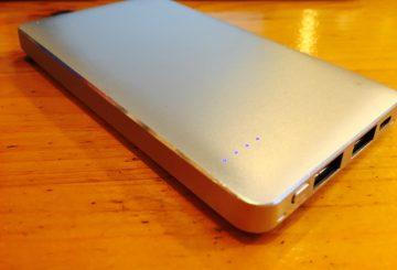 【おすすめモバイルバッテリー】10000mAh 大容量 超軽量 安い 愛用バッテリー SWA-1