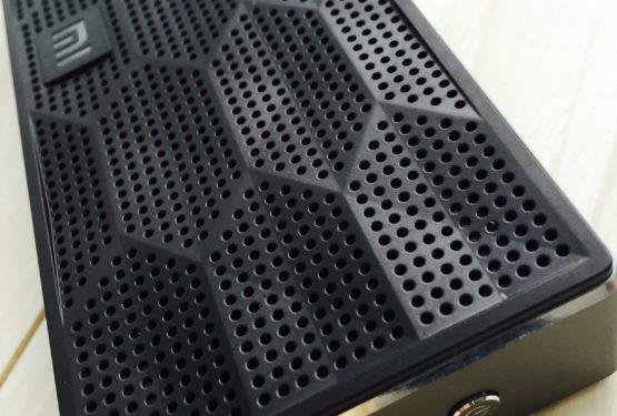 【Bluetoothスピーカー】2000円台でMINI JAMBOX!?見た目 JAMBOX のBluetoothスピーカー Xiaomi Mi Bluetooth Speaker
