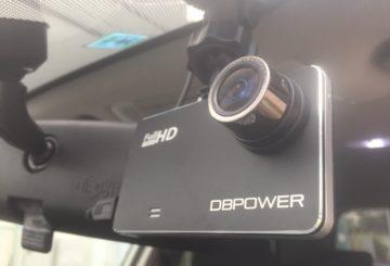 【ドライブレコーダー】4000円台で1200万画素!Gセンサー内蔵のフルHD激安ドライブレコーダーDB POWER W20 取り付け編