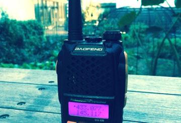 【無線機革命】4000円台!?「Pofung UV-6R」衝撃の価格のアマチュア無線機!