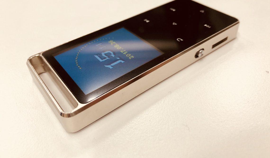 【激安MP3プレーヤー】Bluetooth搭載!AGPTEK A01T 使用レビュー!
