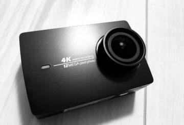 【中華アクションカム最高峰】 YI 4K アクションカメラ!GoPro並みの性能で半額!?