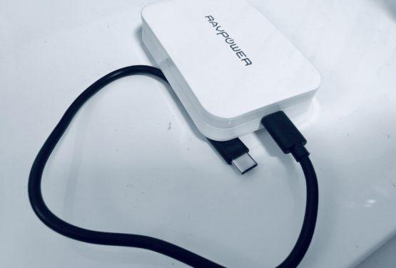 【充電器革命】MacBookProを充電できる次世代薄型充電器! RAVPower RP-PC104 !