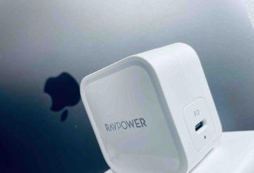 【実機レビュー】 RAVPower 61W USB-C充電器 RP-PC112! 世界最小最軽量充電器!