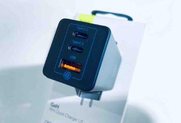 【実機レビュー】Baseus 65W急速充電器 USB-C BS-915 !これぞGaNのベスト充電器!