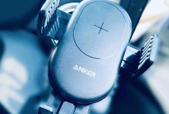 【レビュー】Anker PowerWave 7.5 Car Mount 車載ワイヤレス充電器のおすすめ製品!