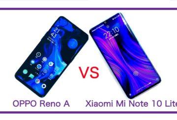 【徹底実機比較】Xiaomi Mi Note 10 Lite VS OPPO Reno A