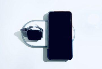 【レビュー】iPhoneとApple Watchを同時に充電できるワイヤレス充電器!CHOETECH T317 2in1 デュアルワイヤレス充電器!